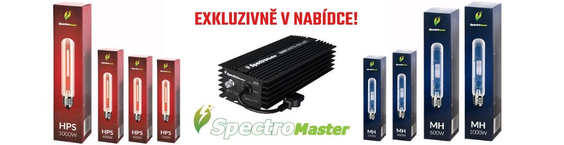 Spectromaster CFL HPS a MH osvětlení