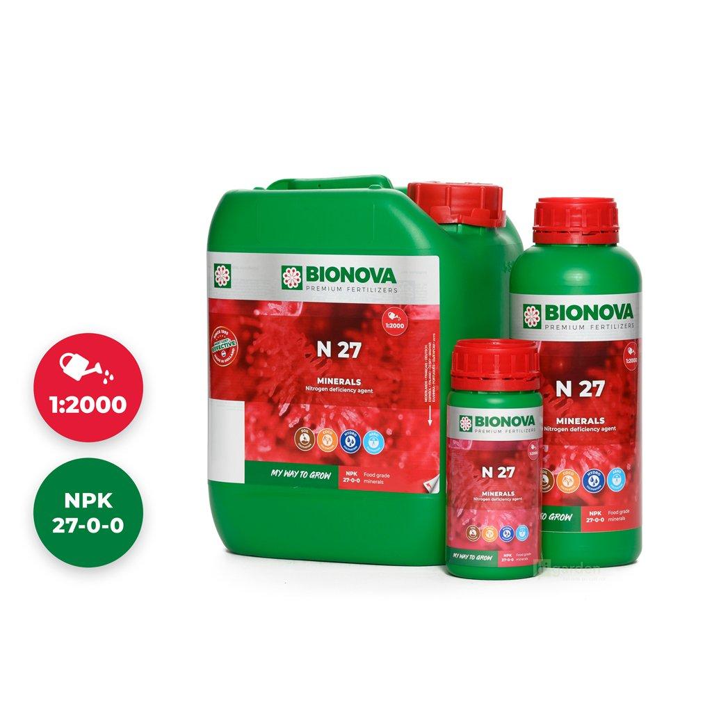 N 27 Set 5L 1L 250ml Bionova mineral