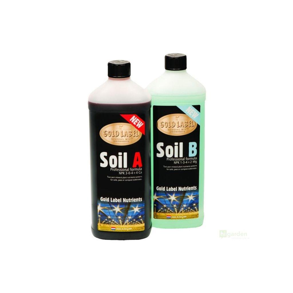 Gold Label Soil A+B
