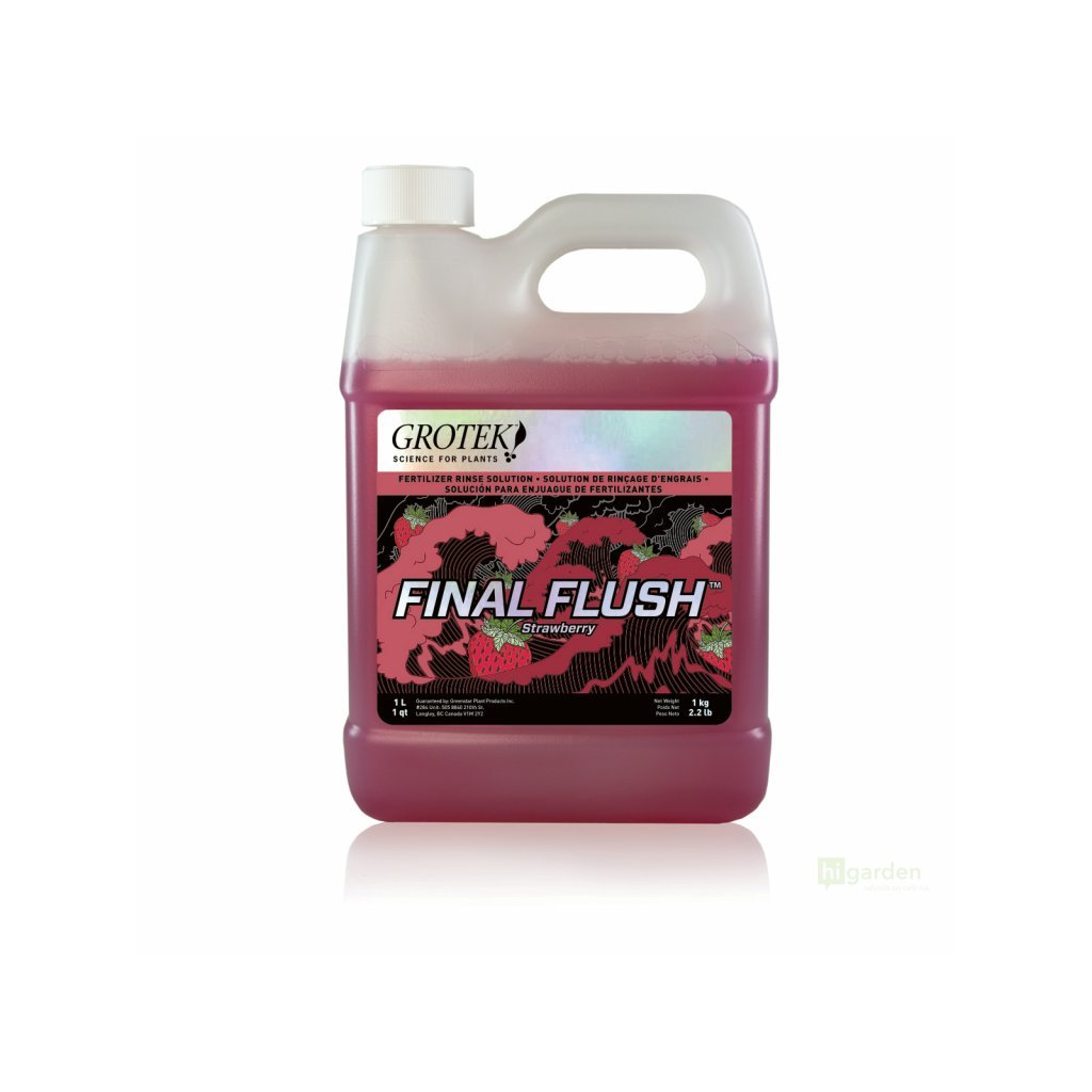 Grotek Final Flush Strawberry Cover