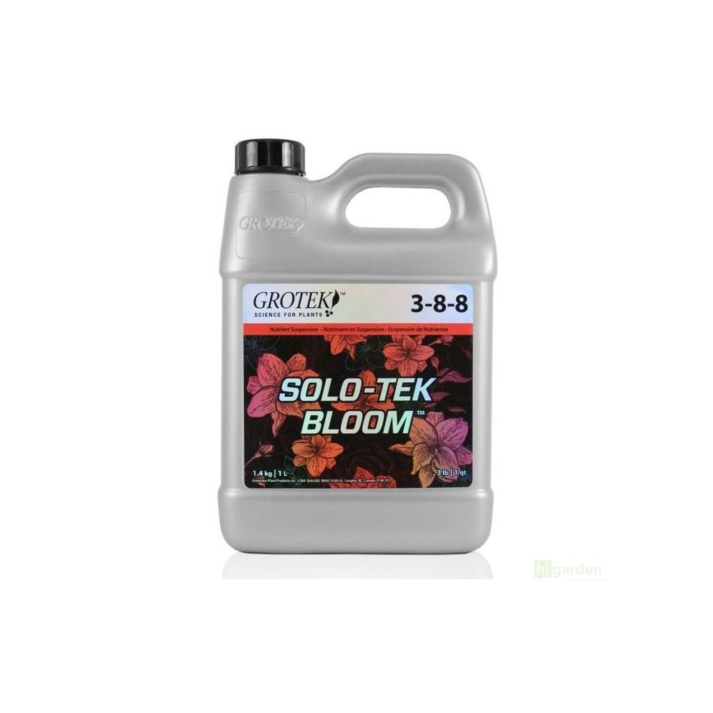 Grotek Solo-Tek Bloom Cover