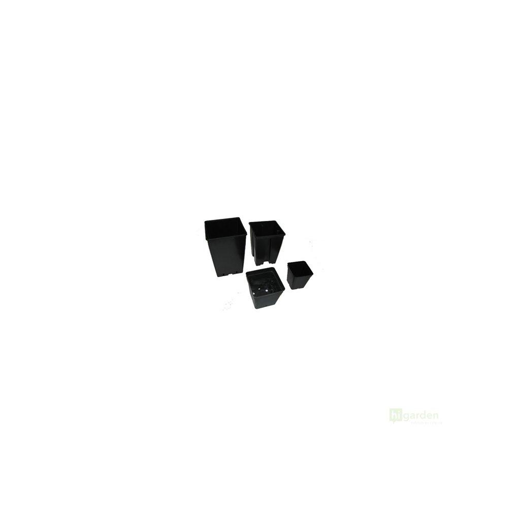 Květník hranatý 11x11x12cm, 1l Cover