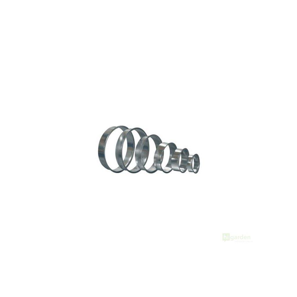 Příruba plechová 125mm Cover