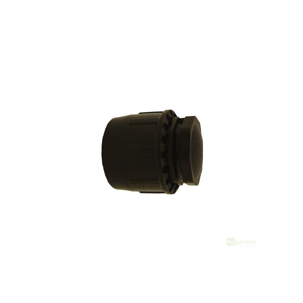 Spojka PE hadice typ zátka, 20mm, svěrná Cover
