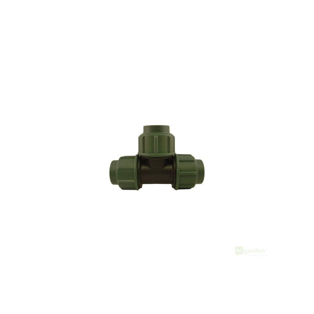 Spojka PE hadice typ T, 25mm-16atm. Cover