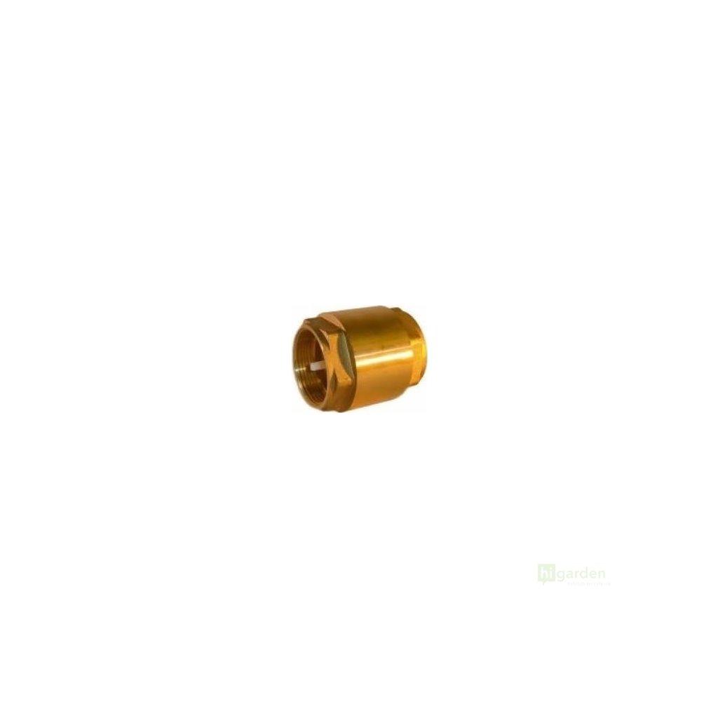 Zpětný ventil mosazný 25mm Cover