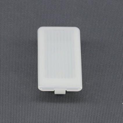12V/ 0,7W LED svítidlo vestavné, 2x LED Cover