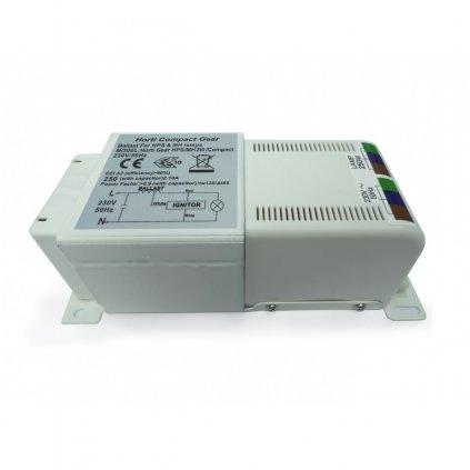 Magnetický předřadník Horti gear compact 250W s tepelnou ochranou Cover