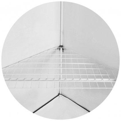 Homebox Vista Triangle Shelf - police 120x75x75 Cover