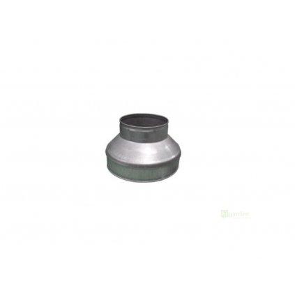 Přechod 150-100 mm (redukce), kov