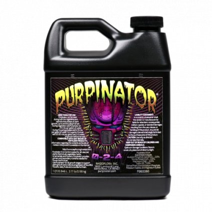Purpinator Cover