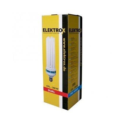 Úsporná lampa ELEKTROX 200W, 2700K, květové spektrum, s integrovaným předřadníkem Cover