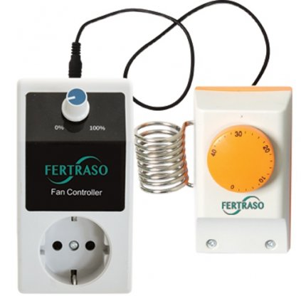 fancontroller thermostat max 1500w