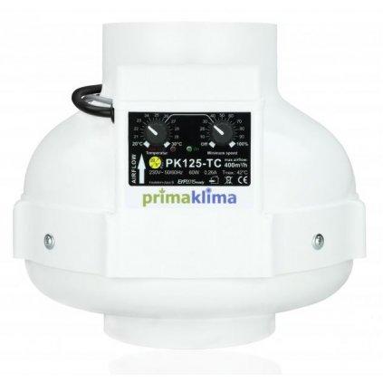 Ventilátor PRIMA KLIMA s tepelnou regulací 400m3/hod, 125 mm Cover