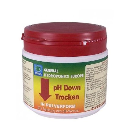 General Hydroponics pH down dry (suché pH) 500g Cover