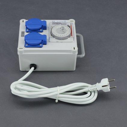Malapa rozvodnice 2+1 (230V) ovládaná spínacími hodinami KL00 Cover