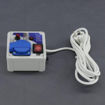 Malapa regulátor napětí plynulý 2200W (na povrch) TR20 Cover