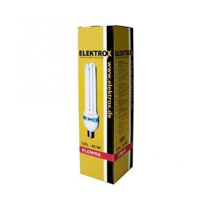 Úsporná lampa ELEKTROX 85W,2700K, květové spektrum, s integrovaným předřadníkem Cover
