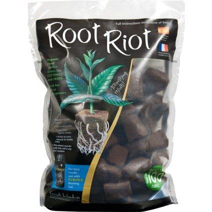 Root Riot 100, samostatná RR kostka bez sadbovače, 100ks Cover