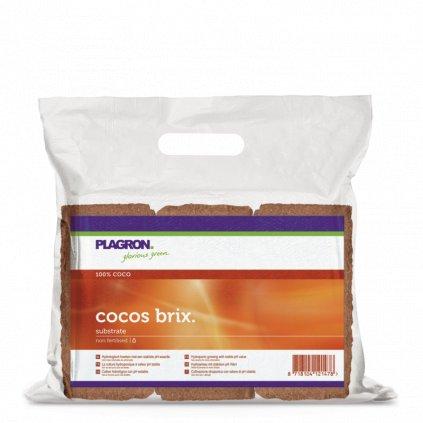 Plagron lisované kokosové brikety