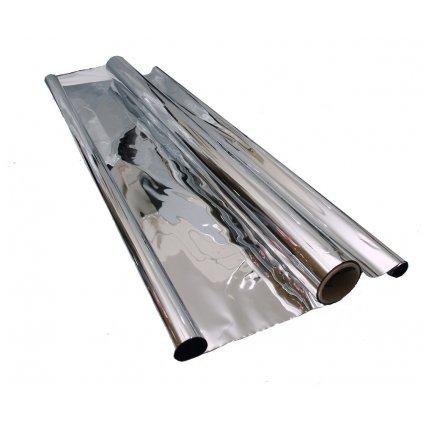 Mylar folie stříbrná odrazová 1.4m x 10m Cover