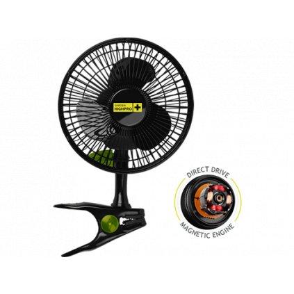 Ventilátor Garden Highpro Clip Fan 15CM / 5W Cover