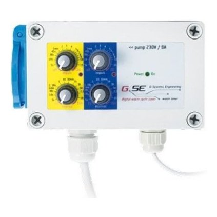 GSE Water timer 8A+den/noc senzor Cover