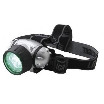 Elektrox green LED Headlight - čelovka zelená LED Cover