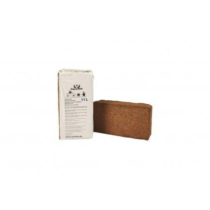 CocoStar Brick 11l - lisovaný kokos 20x10x5,5 cm Cover