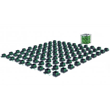 Alien Hydroponics 100 Pot XL 30LTR EasyFeed™ System