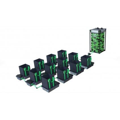 Alien Hydroponics 12 Pot 16LTR EasyFeed™ System