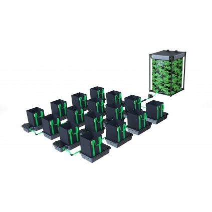 Alien Hydroponics 16 Pot XL 30LTR EasyFeed™ System