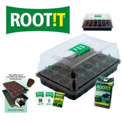 ROOT!T skleníček set pro propagaci (skleníček + sadbovací houbičky, 2x hnojivo, kniha) Cover