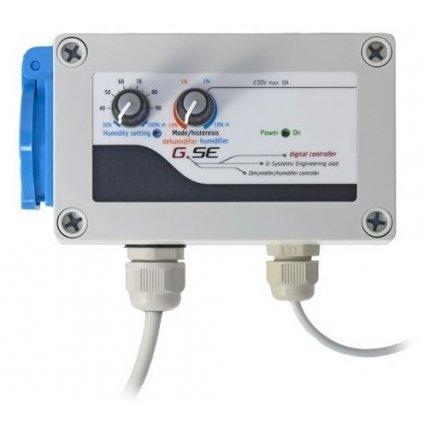 GSE Digitální regulátor zvlhčování/odvlhčování 8A (Hygrostat) Cover