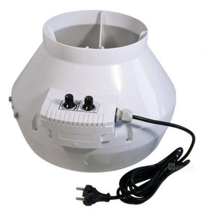 Ventilátor VK 125 U, 355m3/h s termostatem Cover