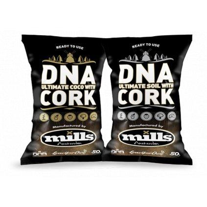 DNA/Mills Ultimate mix Soil&Cork 50l Cover