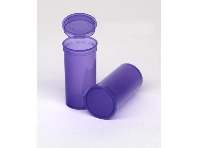 Pop Top uzavíratelná kapesní dóza - fialová