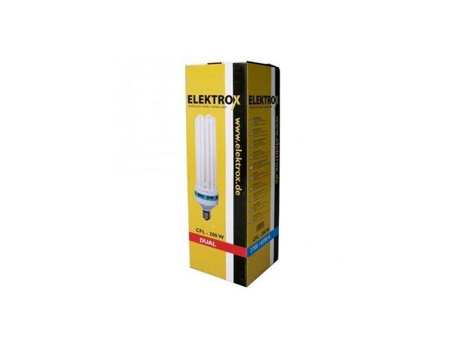 Úsporná lampa ELEKTROX 200W, kombinované spektrum, s integrovaným předřadníkem Cover