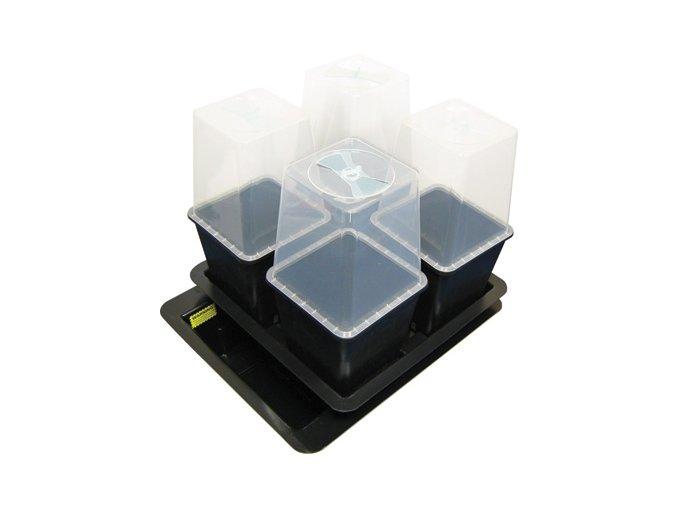 Plastový kryt na květník 11L s regulací vzduchu Cover