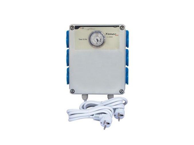 GSE Timer Box II 6x600W, 230V Cover