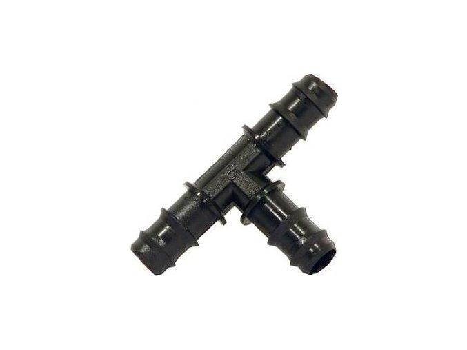 Spojka PE hadice typ T, 16mm, nástrčná Cover