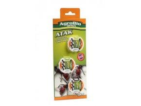 ATAK – nástraha na mravence AMP – domečky 3ks Cover