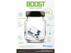 Integra Boost 4g, 55% vlhkost, 1ks Cover