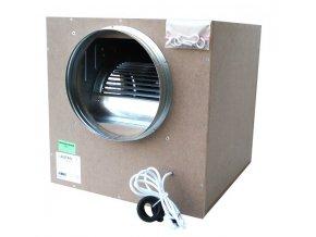 Airfan ISO-Box 2500 m3/h - odhlučněný ventilátor včetně přírub a háků k upevnění Cover