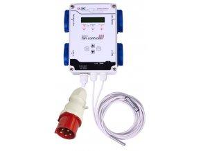 GSE Digitální kontroler ventilátorů - 16A / 4x2200W / 400V Cover