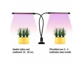 LED osvětlení s klipsem a časovačem 20W