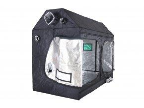 BudBox PRO XXL 120x240x180 stříbrný - zkosený pod střechu Cover