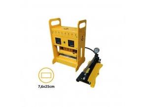 Rosin Press hydraulický lis 20 tun, vyhřívaná lisovací plocha  12x12cm Cover