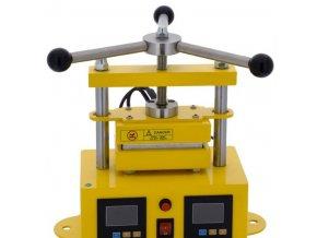 Rosin Press manuální lis 1 tuna, vyhřívaná lisovací plocha  6x12cm Cover