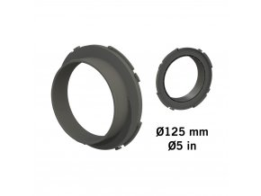Secret Jardin Connector O125 mm - konektor pro Ducting Flange Cover